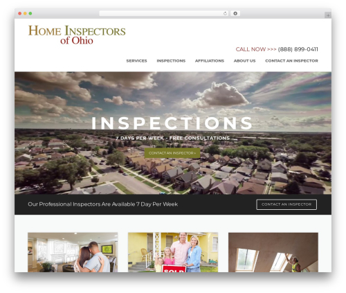 Theme WordPress Construction - homeinspectorsofohio.com