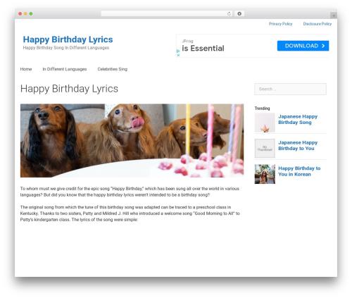 Free WordPress Comments – wpDiscuz plugin - happybirthdaylyrics.com