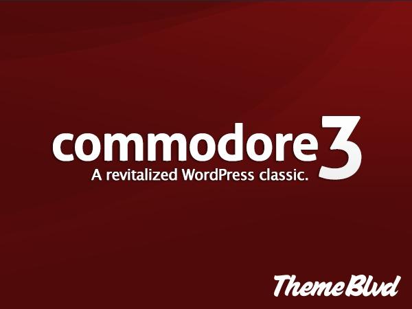 Commodore company WordPress theme