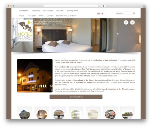 Free WordPress Polylang plugin - hotel-baie-somme.fr
