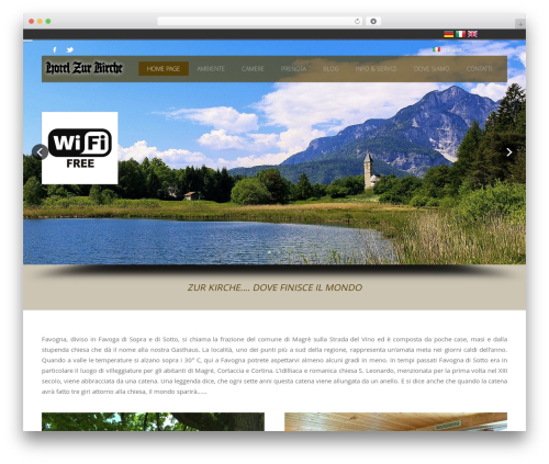 Hoteliour WordPress hotel theme - hotelzurkirche.com