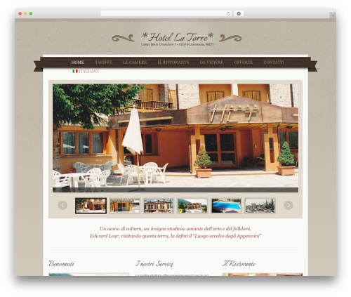 QueenHotel WordPress theme - hotellatorreleonessa.it