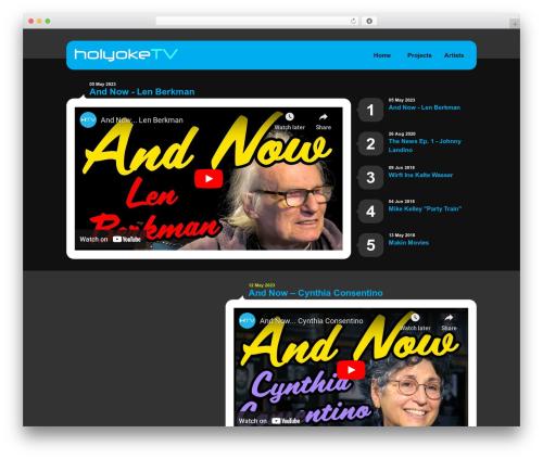 Template WordPress Selecta - holyoketv.org