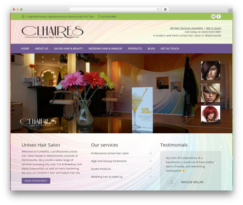 The7.2 theme WordPress - hair-stylist-waterlooville.co.uk