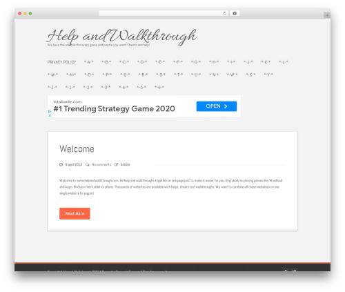 WP template Polar Lite - helpandwalkthrough.com