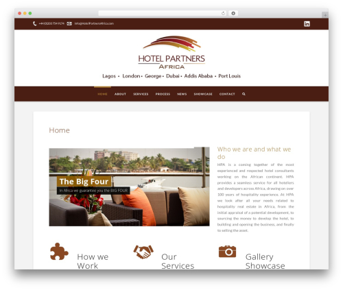 X WordPress theme - hotelpartnersafrica.com