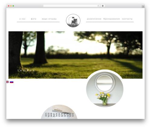 BLANK Theme theme WordPress - hotel-druskininkai.lt