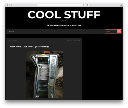 CoolStuff WordPress theme - howtofixmyit.com