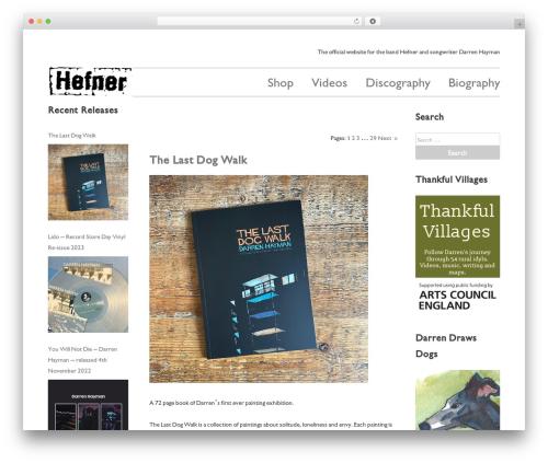 Free WordPress ARVE Advanced Responsive Video Embedder (YouTube, Vimeo, HTML5 Video …) plugin - hefnet.com