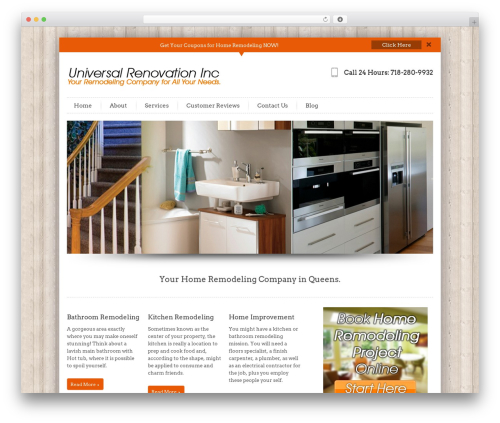 InfoWay template WordPress free - homeremodelingqueens.com