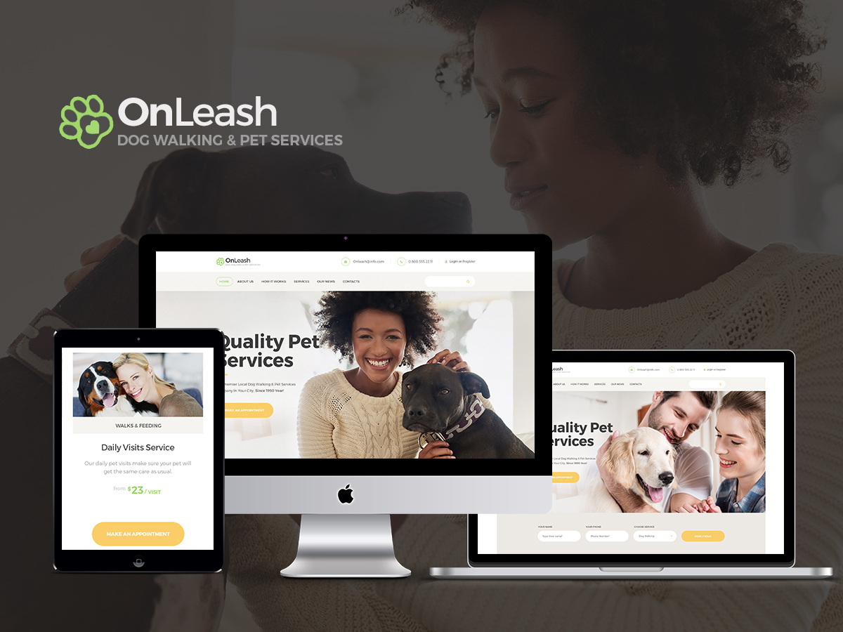 OnLeash WordPress blog theme