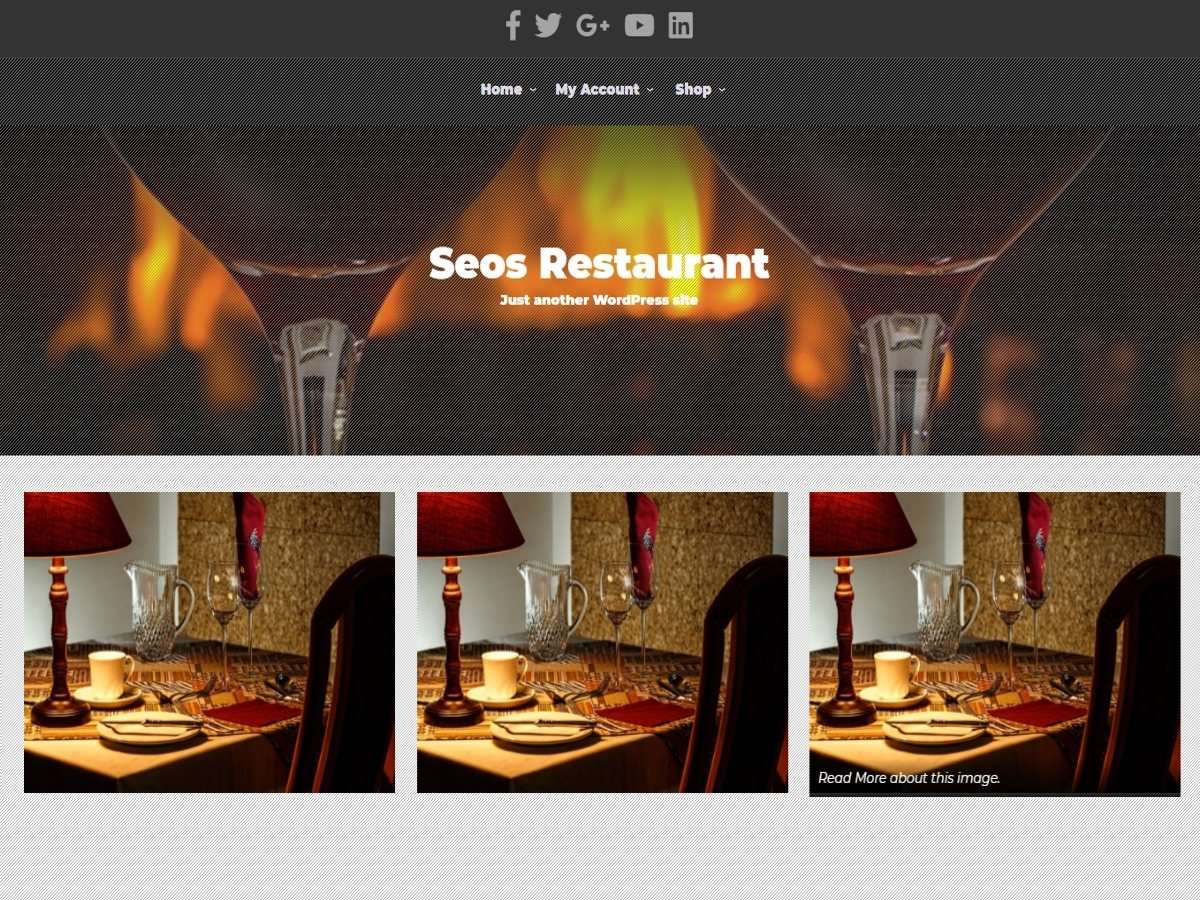 SEOS Restaurant WordPress restaurant theme