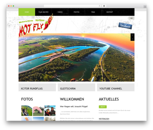 Template WordPress Theme 1274 - hotfly.de
