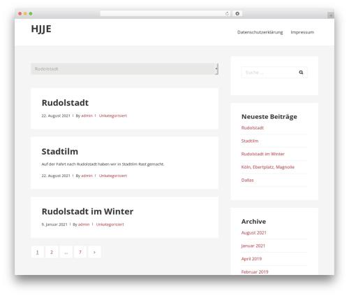BasePress WordPress theme download - hjje.de