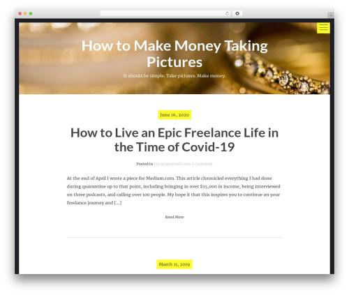 hexo WordPress theme free download - howtomakemoneytakingpictures.com
