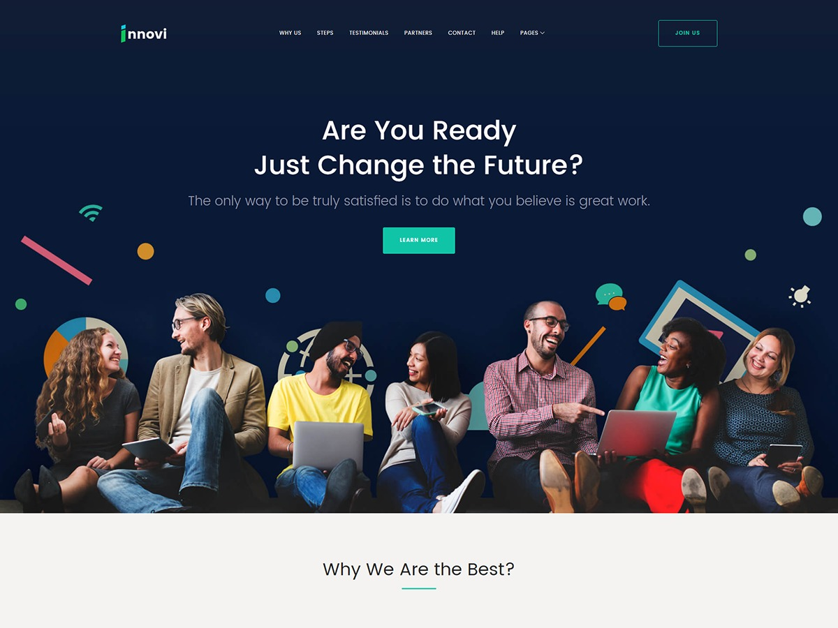 Innovі theme WordPress