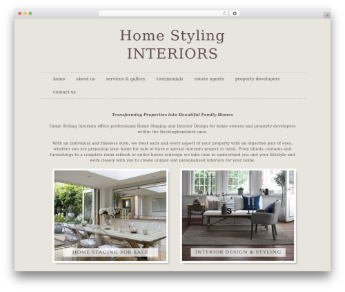 Sela template WordPress free - homestylinginteriors.co.uk