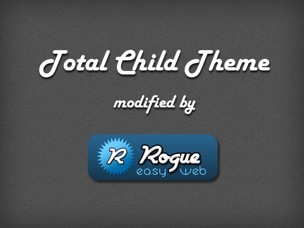 Total Child Rogue Easyweb Modification WordPress template
