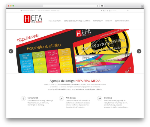 WordPress template Invicta - hefa-media.ro