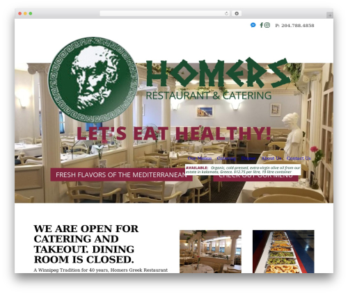 Free WordPress Cornerstone plugin - homers.ca