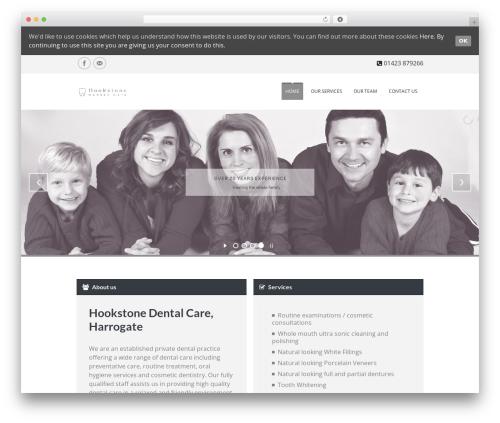 Soulmedic premium WordPress theme - hookstonedental.co.uk