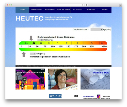 Theme 1274 WordPress theme - heutec.de