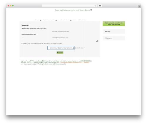 Theme WordPress Brief.ly/RootPro (mu version) - helpushelpus.com