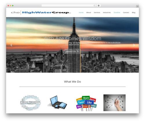 Theme WordPress Child Theme for Divi - highwatergroup.com