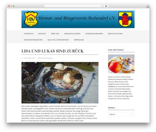 Free WordPress YouTube plugin - hbv-aschendorf.de