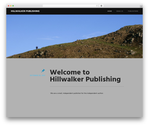 Harmonic premium WordPress theme - hillwalkerpublishing.com