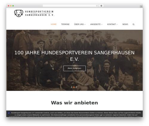 Pet Business top WordPress theme - hundesport-sangerhausen.de