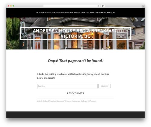 Template WordPress Argent - andersenhouse.com