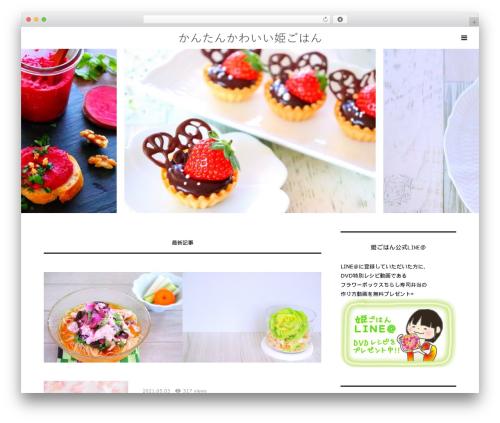 Theme WordPress Bloom - hime-gohann.com