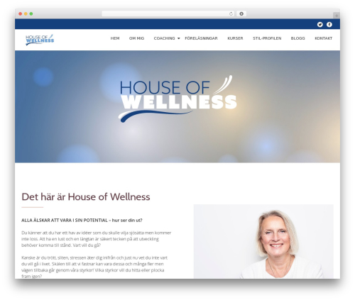 Theme WordPress Llorix One Lite - houseofwellness.se