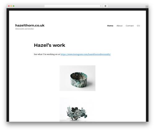 Twenty Sixteen WordPress free download - hazelthorn.co.uk