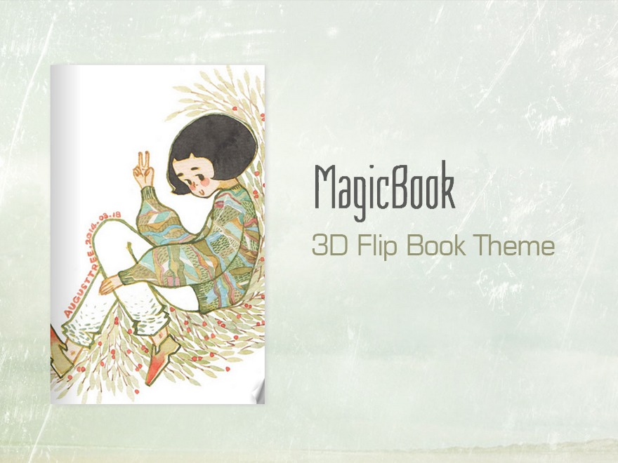 Best WordPress template MagicBook