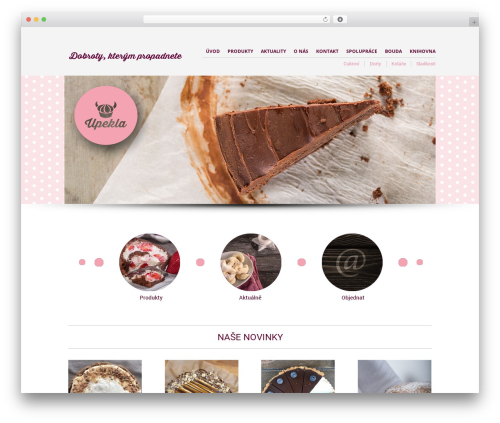Best WordPress template The Retailer - upekla.cz