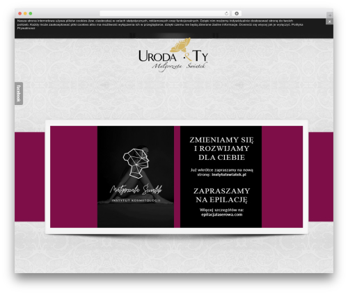 Crea WordPress page template - urodaity.pl