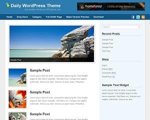 Daily WordPress Theme best WordPress magazine theme