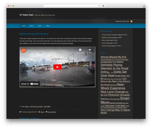 deCoder best WordPress video theme - utdashcam.com