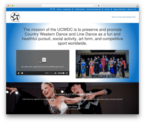 Divi WordPress website template - ucwdc.org