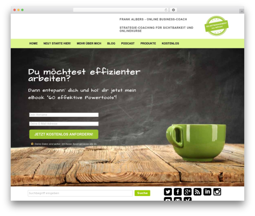 Free WordPress Shariff for WordPress plugin - unclutter2go.de