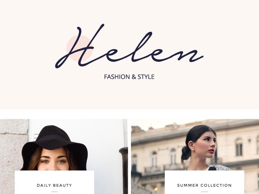 Helen premium WordPress theme
