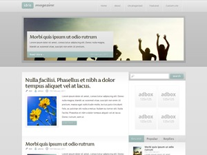 Idris best WordPress theme