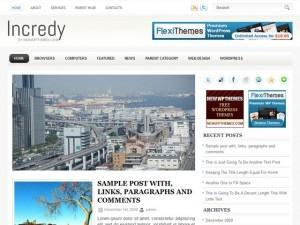 Incredy top WordPress theme