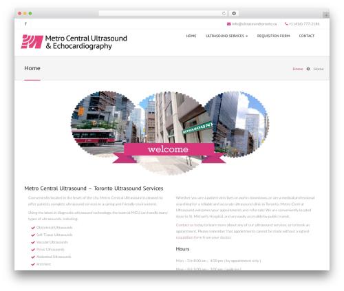 Jollyany theme WordPress - ultrasoundtoronto.ca