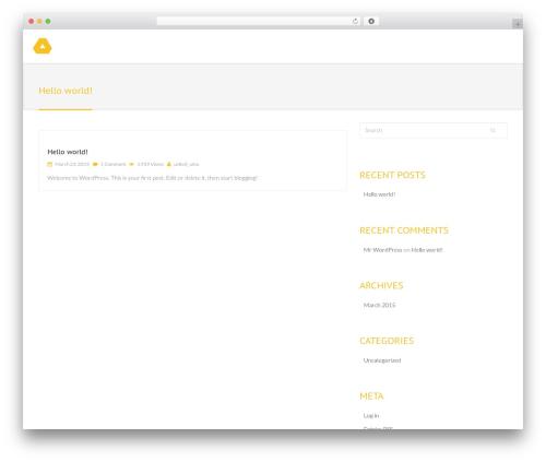 Jollyany WordPress theme - umatechcorner.de