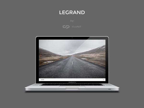 Legrand WordPress theme