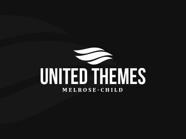 Melrose Child personal blog WordPress theme