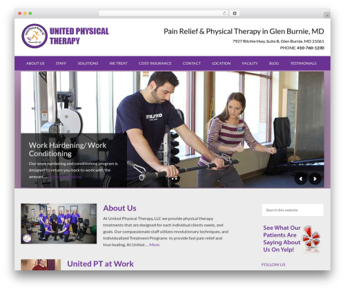 Outreach Pro WP theme - united-therapy.com